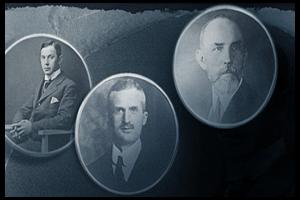 Kỹ sư August Eberstein, Giám đốc ngân hàng Hamburg Alfred Nehemias và thương gia Claus-Johannes